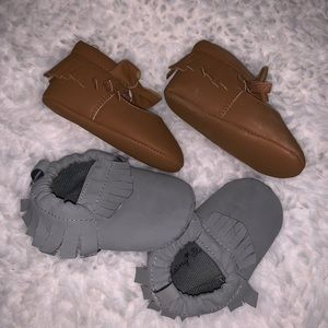 Shoes - Baby moccasins